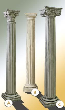 Pilastri e colonne elementi decorativi artman per arredo for Colonne arredo